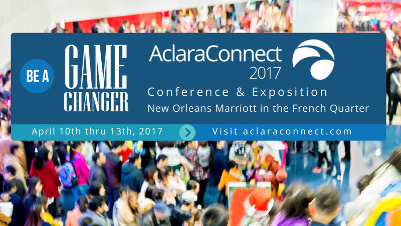Aclara's 9th annual client conference, AclaraConnect will take place in New Orleans April 10-14. With the theme, Be A Game Changer, the conference will explore how leading-edge technologies can help utilities thrive in a landscape of disruptive change.