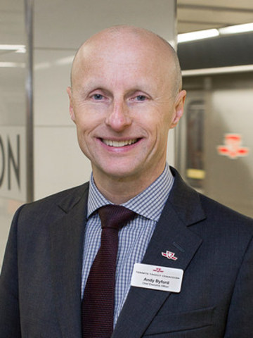 IABC/Toronto Communicator of the Year Award: Andy Byford, CEO, Toronto Transit Commission (TTC) (CNW ...