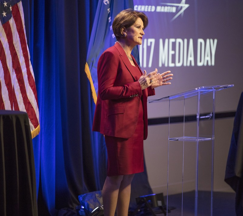 Lockheed Martin CEO Discusses Growth Plans and International Expansion (PRNewsFoto/Lockheed Martin)
