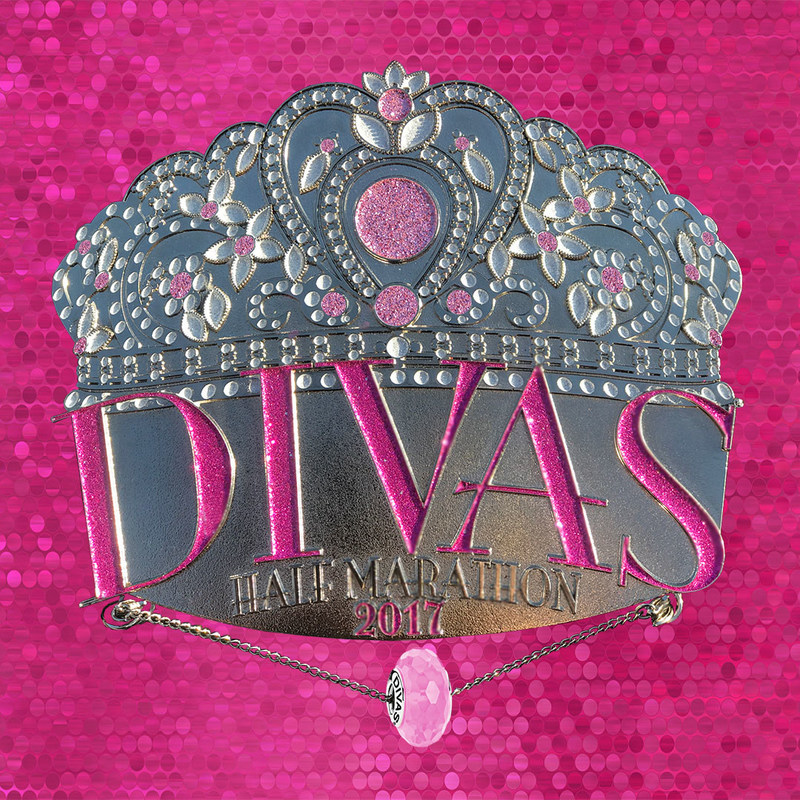 The Divas(R) Running Series is excited to unveil its finish medals for 2017 featuring a jaw-dropping design along with jewelry compatible with bracelets from well-known brands Pandora(R) and Chamilia(R).