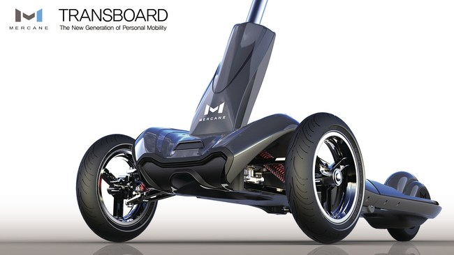 Transboard is an Alternative Personal Mobility System that can Transport Riders Up to 25 Miles on a Single Charge