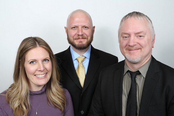 Melissa Yuvan, William Wagner and Alan Nicholls are part of the team at PM Environmental's new Bay City office.