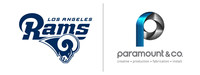 PARAMOUNT & CO. BECOMES PROUD PARTNER OF THE LOS ANGELES RAMS