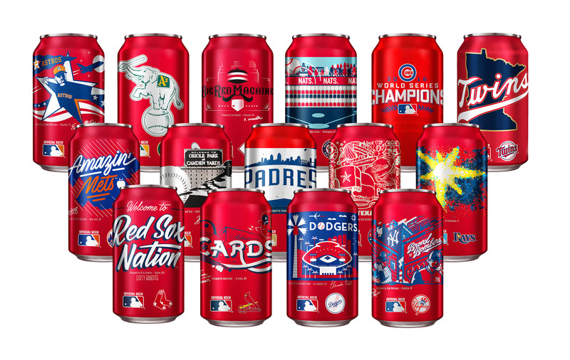 Budweiser Releases Locally-Inspired Team Cans to Celebrate America's Hometown Spirit
