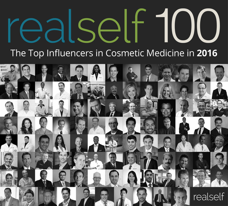 Plastic Surgeons, Dermatologists, and Aesthetic Physicians Recognized For Their Commitment to Consumer Education on RealSelf