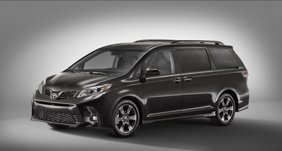 Refreshed 2018 Toyota Sienna, Yaris headed to New York Auto Show