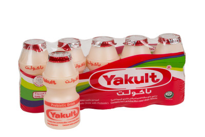 Distribution lines will be available in the UAE and throughout the GCC from 26th March, supplying Yakult across major supermarket chains. (PRNewsFoto/Yakult)