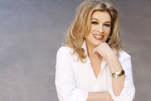 Iva Zanicchi, Italy's legendary pop music queen, the only vocalist to win the International San Remo Music Festival three times in a row.