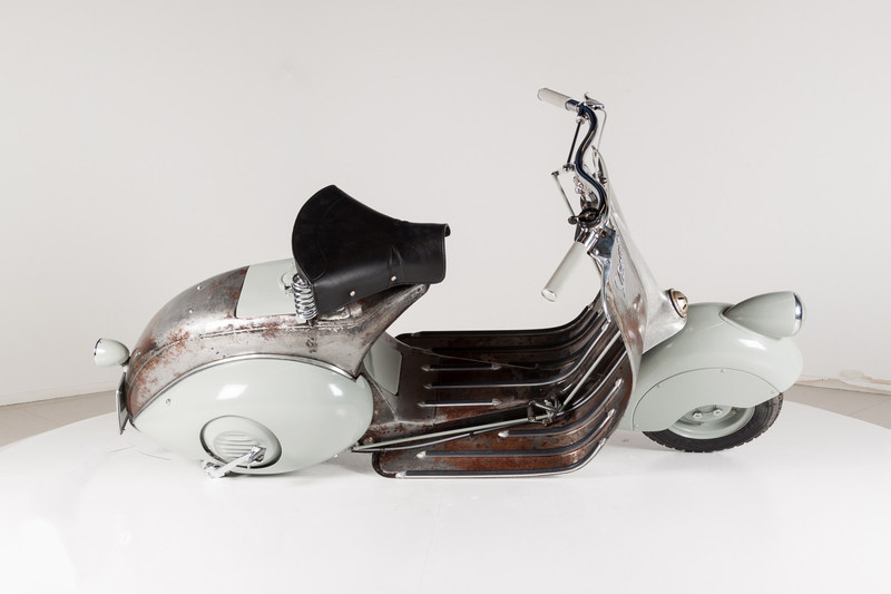 The world's oldest Vespa scooter is being auctioned at www.Catawiki.com/vespa..