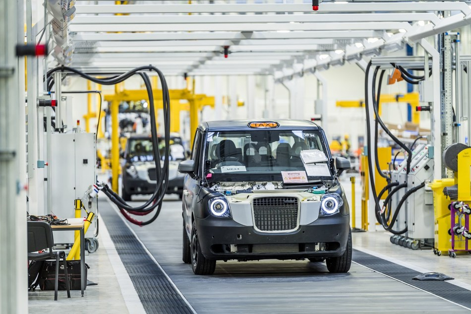 The London Taxi Company (LTC) have announced the official opening of the UK's first car plant dedicated solely to the production of range-extended electric vehicles. The new, state-of-the-art, vehicle plant in Coventry, UK is where the world's first purpose-built, mass-market electric taxi will be built. (PRNewsFoto/London Taxi Company)