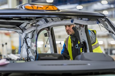 The London Taxi Company, a wholly-owned subsidiary of Geely, has invested more than Pounds Sterling300m in the new site and the next-generation London taxi, which will be produced at the plant and exported around the world. The investment and expansion of LTC has created more than 1,000 new jobs, including 200 engineers and 30 apprenticeships. (PRNewsFoto/London Taxi Company)