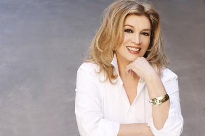 Iva Zanicchi, la celèbre chanteuse et la reine de la musique pop italienne, la seule chanteuse à avoir remporter le prix du festival international de musique de San Remo trois fois de suite.