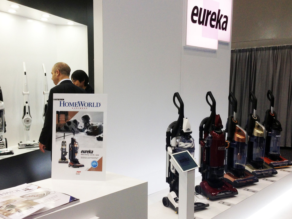 Eureka's Carefree Vacuums Showed at 2017 IHHS now available in the U.S. market.