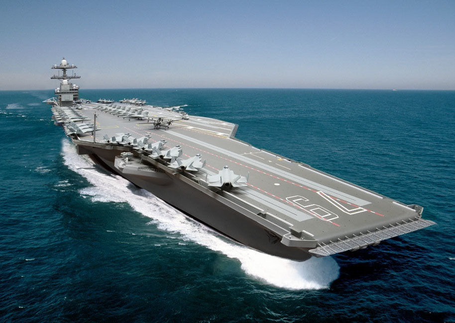 John F. Kennedy CVN79 Illustration