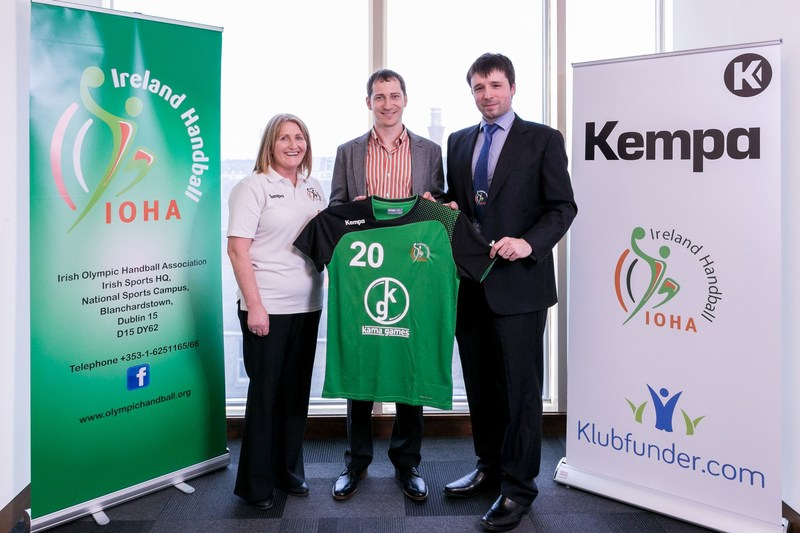 From left to right: Susan Moloney - Operations Manager - IOHA , Andrey Kuznetsov - Managing Director - KamaGames Ireland, Eoin Gallagher - Board member - IOHA (PRNewsFoto/KamaGames)