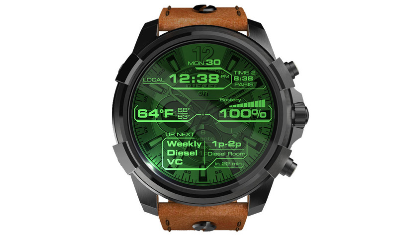 Diesel On touchscreen smartwatch