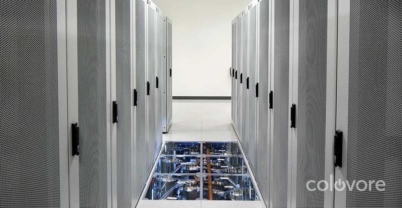Colovore's data center features modern liquid cooling and power densities of 35 kW per rack, driving the lowest TCO and highest footprint efficiency in Bay Area colocation.