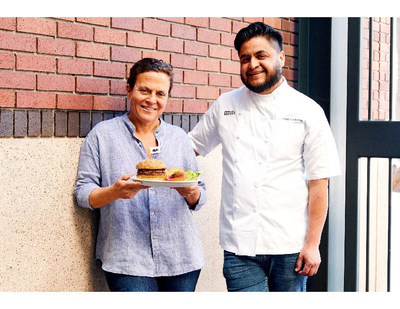 Left to Right: Traci Des Jardins, Chef-Partner; Jorge Lumbreras, Executive Chef, San Franciso-based Public House.