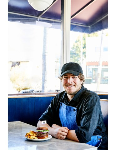 Chris Kronner, Chef-Owner, Oakland-based KronnerBurger.