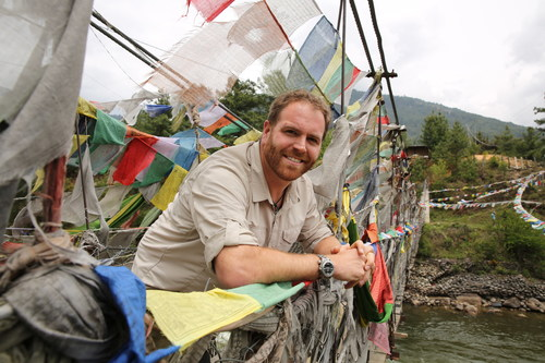Josh Gates as seen on Travel Channel's Expedition Unknown