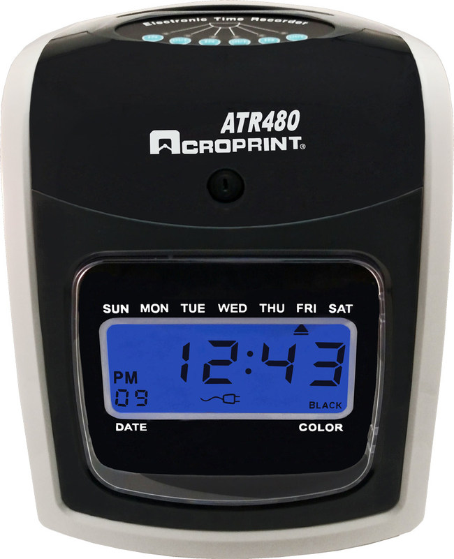 The Acroprint ATR480 Includes Many Popular Features, But Won't Bust The Bank