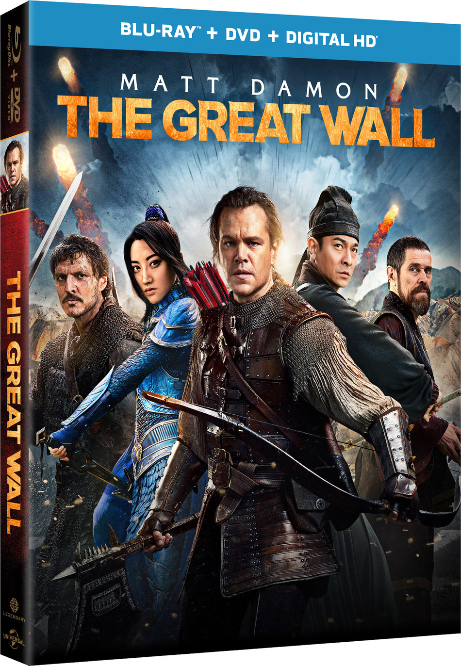 From Universal Pictures Home Entertainment And Legendary Pictures: THE GREAT WALL