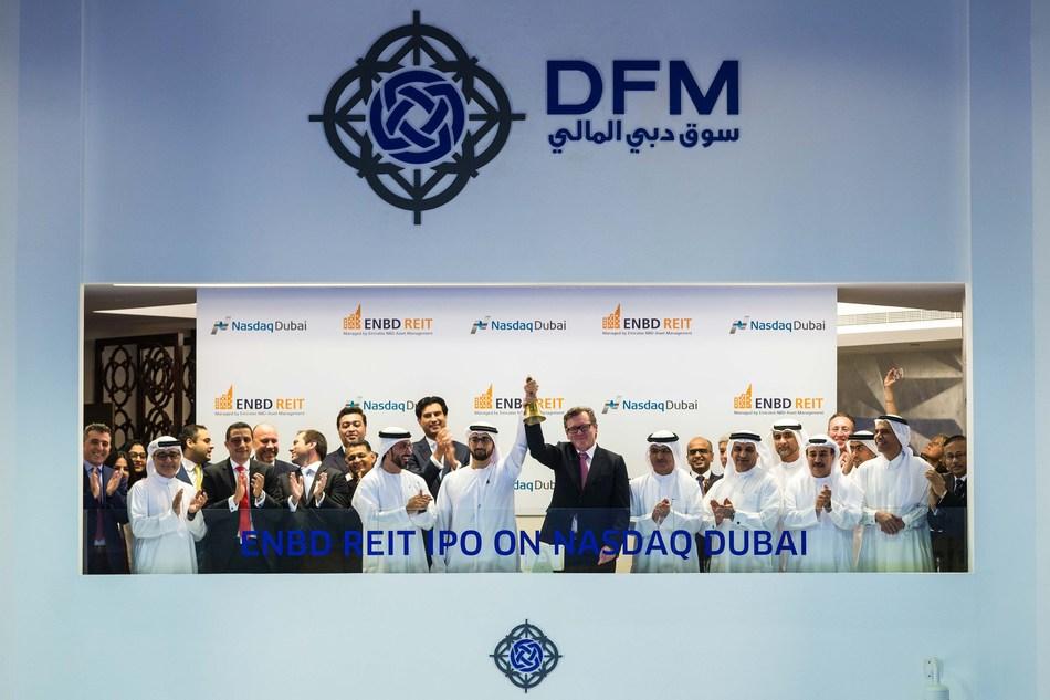 Nasdaq Dubai welcomes ENBD REIT IPO (PRNewsFoto/ENBD REIT)