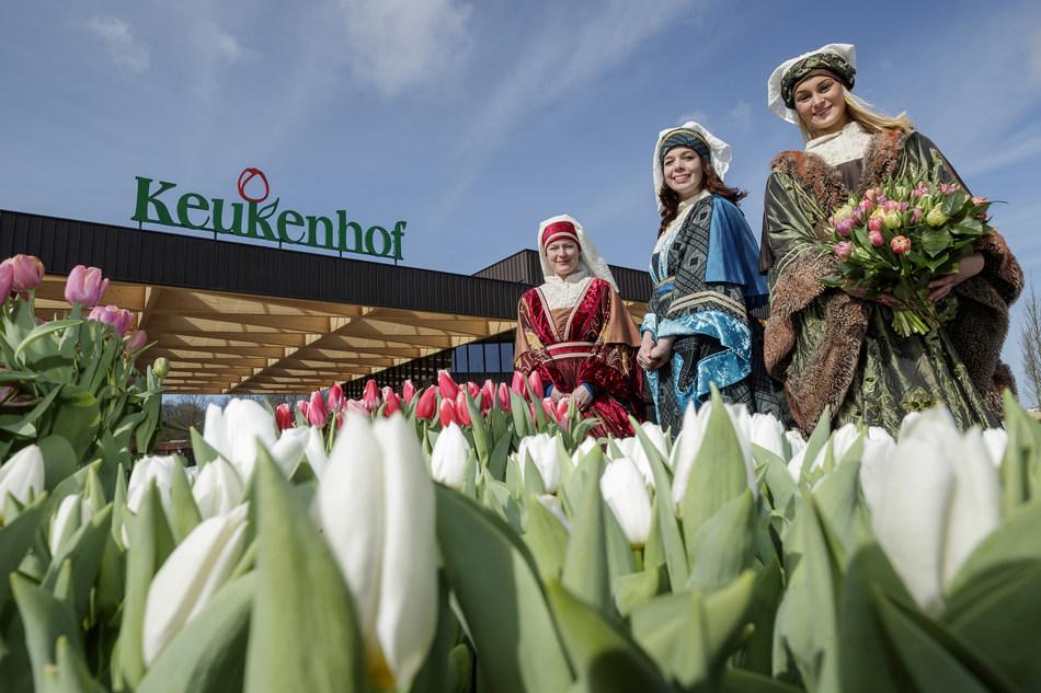 Dutch Design in flowers at the Keukenhof opening (PRNewsFoto/Keukenhof)