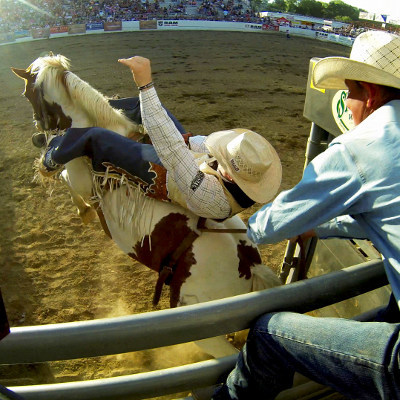 Saddle up for the 69th Annual Redding Rodeo and get ready for some bucking, roping, riding, and boot-scooting!