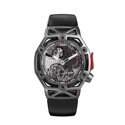 A Ferrari Design for a Hublot Watch Celebrating Ferrari's 70th Anniversary - Hublot Techframe