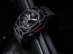 Techframe Ferrari Tourbillon Chronograph PEEK Carbon (PRNewsFoto/Hublot)