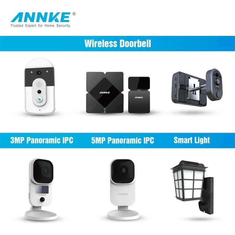 ANNKE Releases Wireless Doorbells & Smart Light