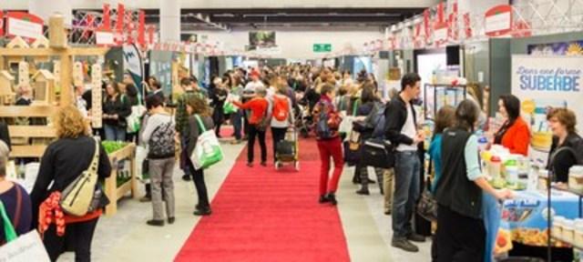 The Palais des congrès de Montréal has been hosting Expo Manger Santé et Vivre Vert since 2002. (CNW Group/Palais des congrès de Montréal)
