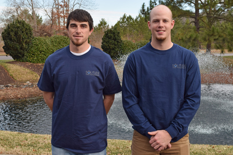 From left: Steven King and Peyton Woods