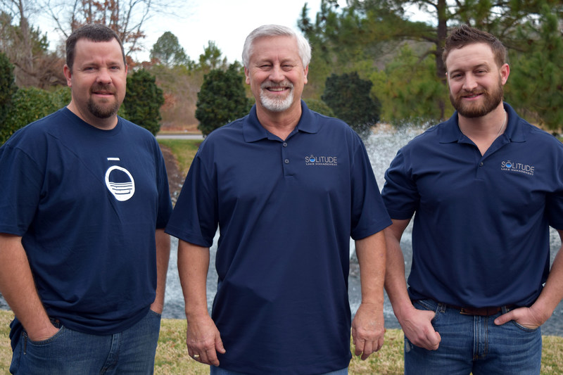 From left: Jason Regester, Stan Smith and Cory Smith
