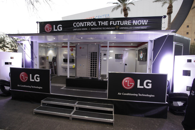"LG Electronics is reinforcing its deep commitment to the future of the HVAC industry by introducing the ""LG Technology Roadshow"" - a unique LG mobile showroom on wheels"
