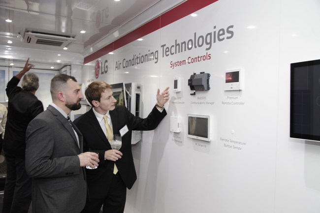 LG unveiled the future of the connected building with the launches its new controls platform, LG MultiSITE(TM) - with the goal of supply building owners the tools they need to make the best operational choices for their businesses and bottom lines.