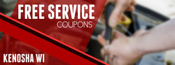 Drivers in Kenosha can use free online service coupons to save on spring vehicle maintenance.