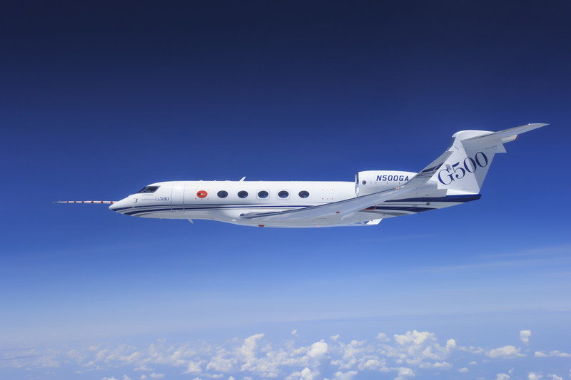 Gulfstream Aerospace Corp.'s G500 flight-test program continues to make significant progress toward the aircraft's anticipated 2017 certification by the Federal Aviation Administration (FAA). The five G500 test aircraft, including a fully outfitted production aircraft, have surpassed 2,600 flying hours and accumulated more than 600 flights.