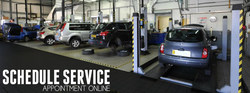 Customers at Hall Volkswagen can schedule their next service appointment online through dealership website.