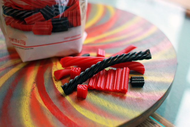 National Licorice Day is Wednesday, April 12, 2017 and to celebrate, the American Licorice Company has created the Red Vines(R) California Collection(R). The Red Vines(R) California Collection(R) is an assortment of seven classic licorice pieces, which include Black Licorice Twists, Original Red(R) Twists, Black Licorice Bites, Original Red(R) Bites, Super Ropes(R), Original Red(R) Bars, and Superstrings(R) candy.