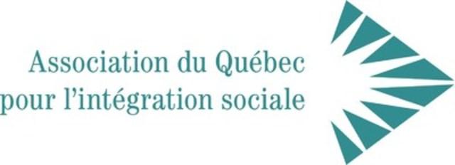 Logo: Association du Québec pour l'intégration sociale (Groupe CNW/Association du Québec pour l'intégration sociale)