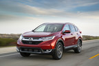 El Honda CR-V de 2017 de gran venta gana la clasificación MEJOR OPCIÓN DE SEGURIDAD+ del IIHS