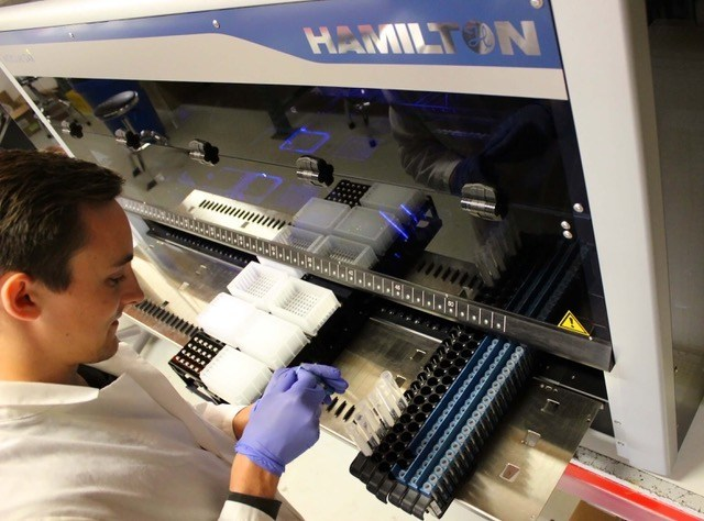 Zymo Research has created optimized methods for microbiomics and RNA isolation for use on Hamilton's automated liquid handling workstations.