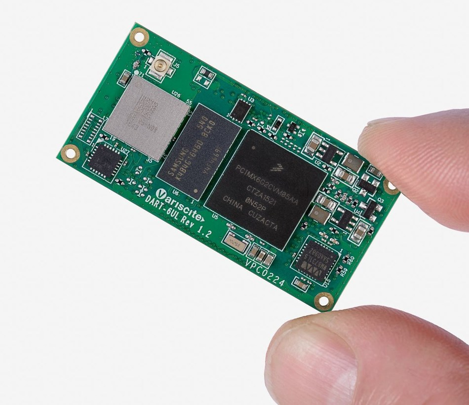 Starting from only 24USD, Variscite's DART-6UL is a highly optimized cost/performance System-on-Module, 696MHz Cortex-A7, a wide range of interfaces and connectivity, industrial temperature grade and 15-year longevity commitment (PRNewsFoto/Variscite)