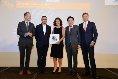 FrieslandCampina Asia Wins Winsemius Award for Sustainability & Innovation