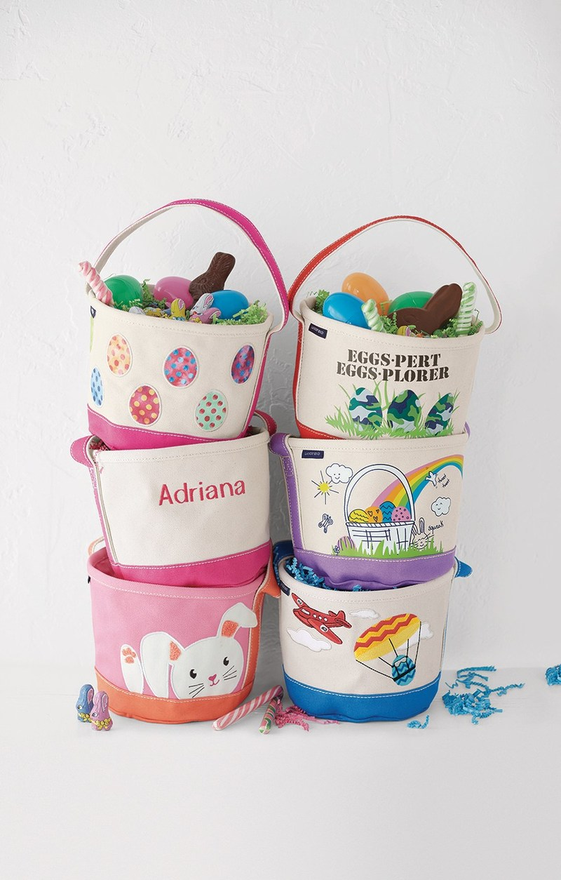The popular Easter Totes from Lands' End feature new designs and features this season that every egg collector will appreciate. Visit www.landsend.com to personalize the perfect collectible tote.
