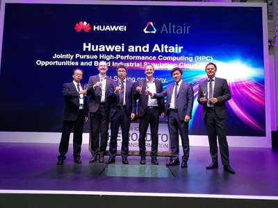 Altair-Huawei MoU signing ceremony