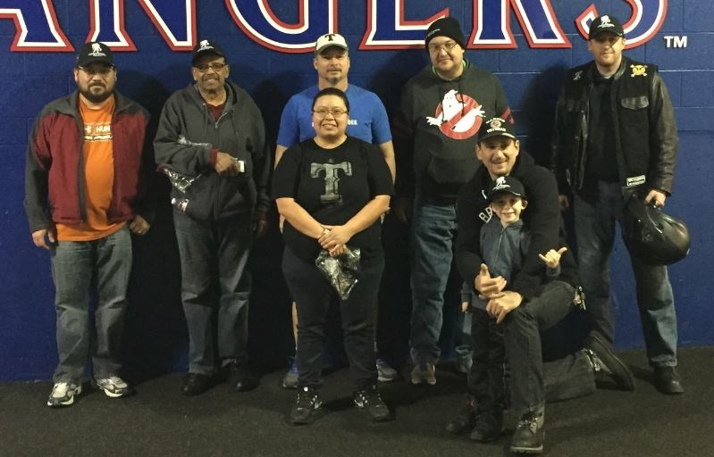 Wounded Warrior Project recently took veterans on a behind the scenes tour of Globe Life Park -- home of the Texas Rangers.