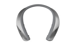 In stores today at AT&T for $229.00, the LG TONE Studio is LG's newest around-the-neck Bluetooth(R) wearable speaker (compatible with Bluetooth(R) audio enabled LG Smart TVs running WebOS*), that lets you experience true surround sound anywhere.